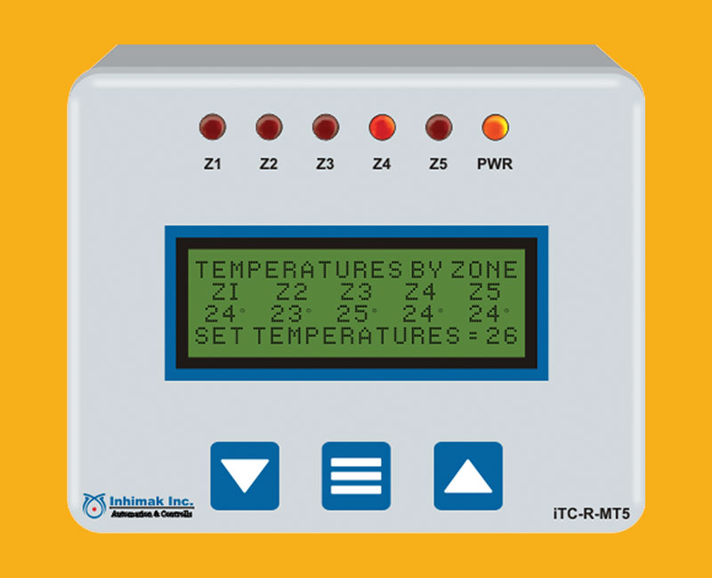 Multi Zone Temperature Controller iTC-R-MT5